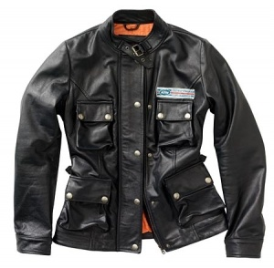Dámská kožená bunda GIRLS LEATHER JACKET