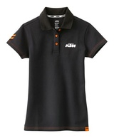 Dámské triko GIRLS RACING POLO BLACK