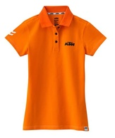 Dámské triko GIRLS RACING POLO ORANGE