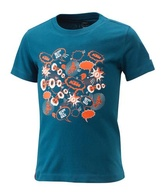 KIDS RADICAL TEE BLUE