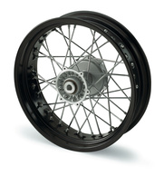 REAR WHEEL 4,25X17'' BLACK