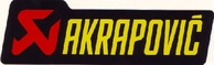 STICKER AKRAPOVIC 44x150