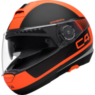 Vyklápěcí přilba SCHUBERTH C4 Legacy Orange SCHUBERTH