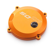 SXS 50 CLUTCH COVER ORANGE